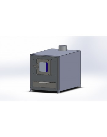 Ārējais alumīnija krāsns 35 kW