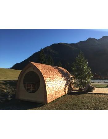 Iglu formas sauna